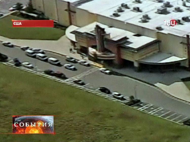 Кинотеатр где произошла стрельба