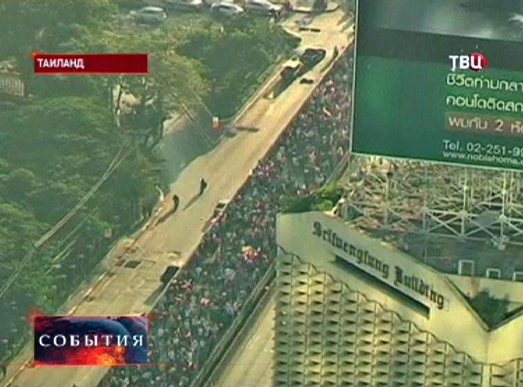 Демонстрация в Таиланде