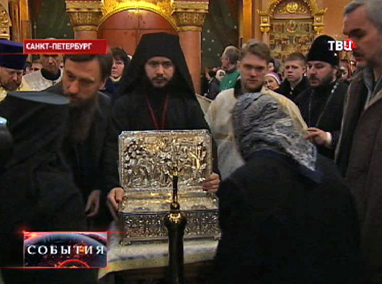 Дары Волхвов в Новодевичьем монастыре