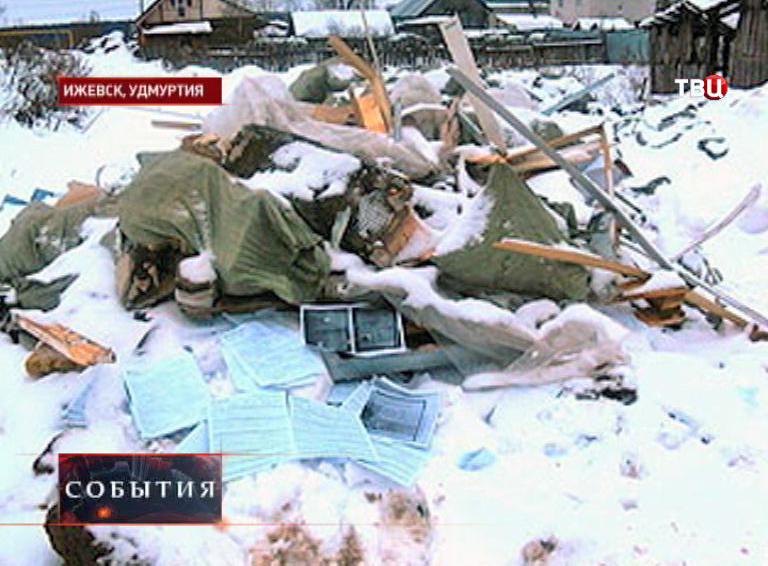 Документы с личными данными клиентов на свалке в Ижевске