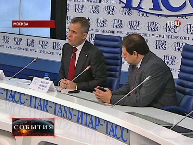 Павел Астахов на пресс-конференции
