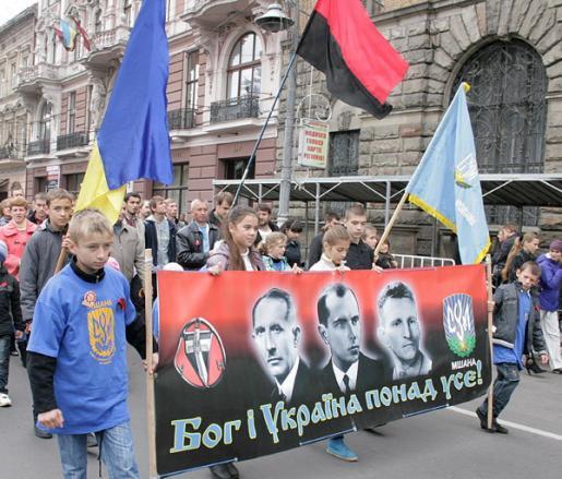 Марш УПА во Львове