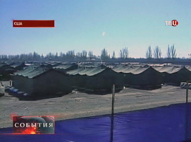 Военный лагерь в США