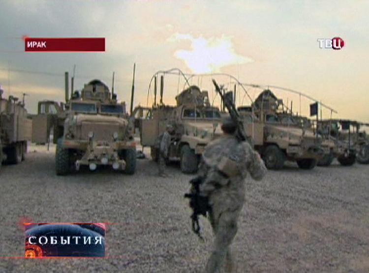 Военная техника армии США в Ираке