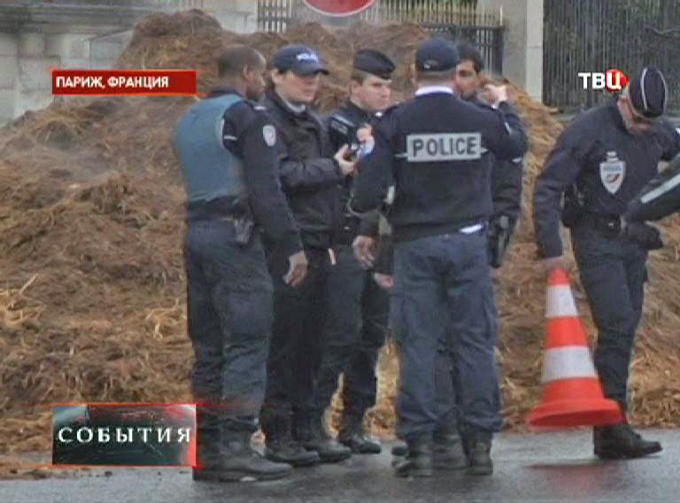 Полиция на месте происшествия