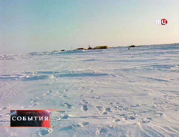 База Амундсена-Скотта на Южном полюсе