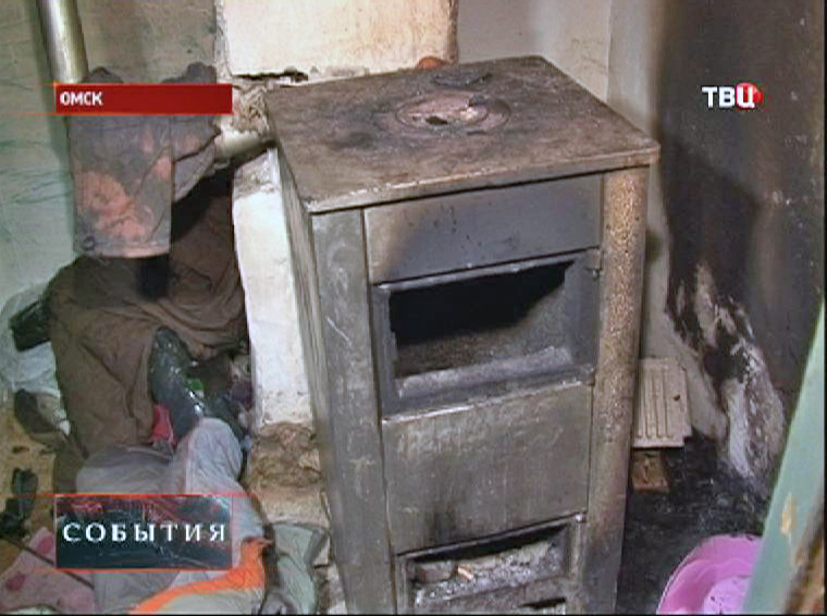 Неисправная печь могла стать причиной гибели детей при пожаре в Омске