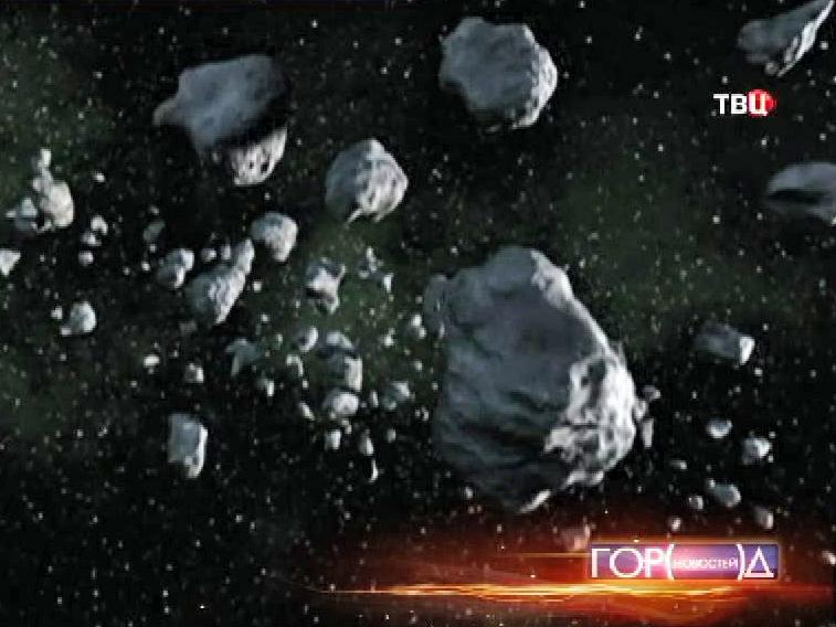 Метиориты в космосе