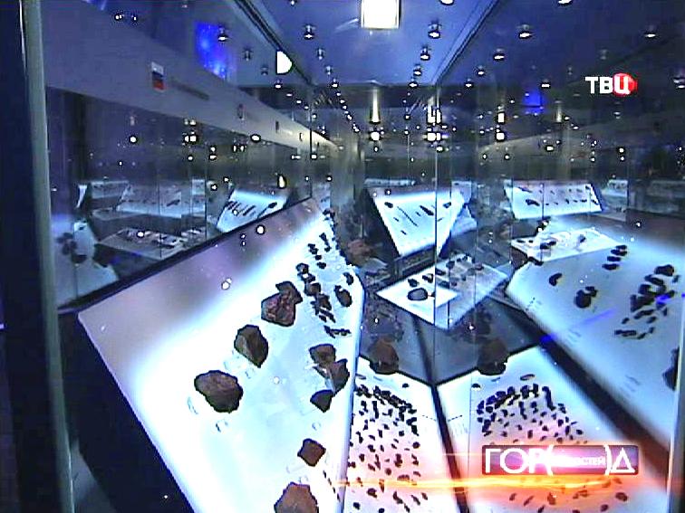 """Выставка """"Метеориты - гости с небес"""" в Планетарии"""