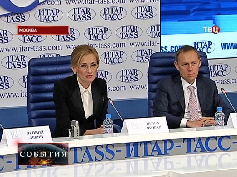 Председатель думского комитета по безопасности Ирина Яровая