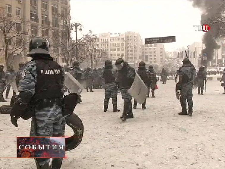 Милиция в центре Киева