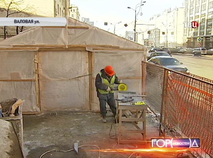 Ремонт подземного перехода на улице Валовая