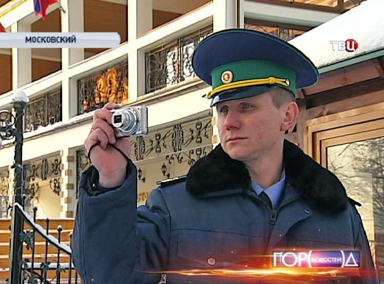 Инспектор с камерой видеофиксации