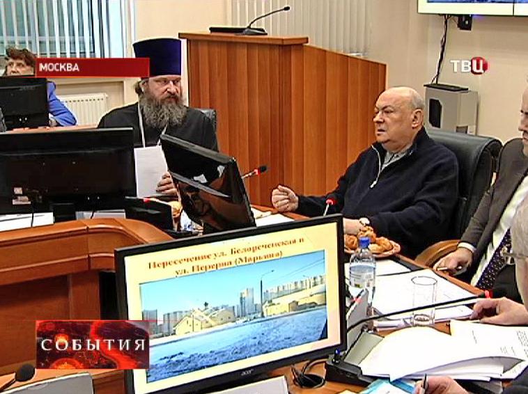 Владимир Ресин на пресс-конференции