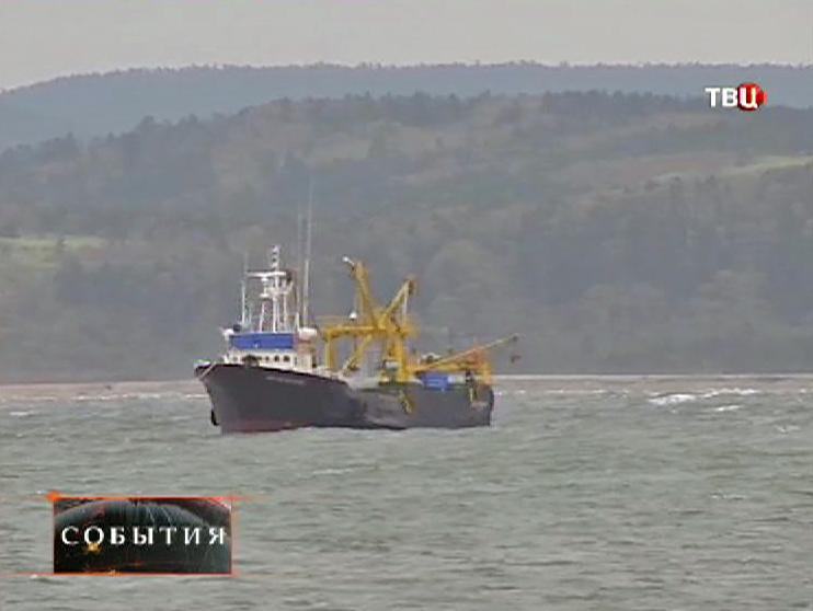 Поиск пограничников береговой охраной Сахалина