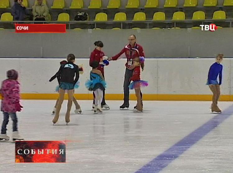 Фигуристки готовятся к Олимпиаде в Сочи