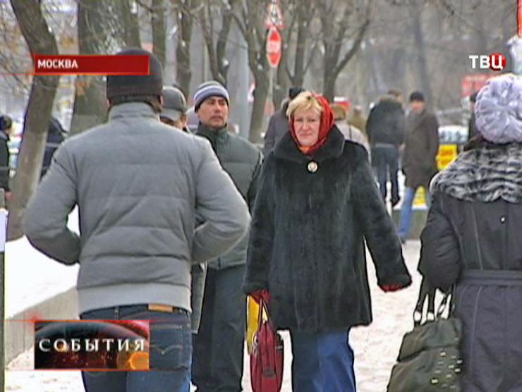 В Москве ожидают холода
