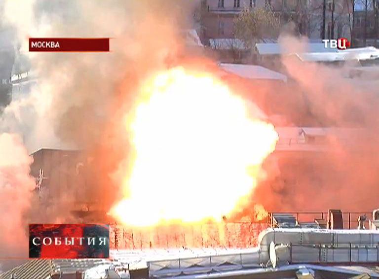 Взрыв газового баллона