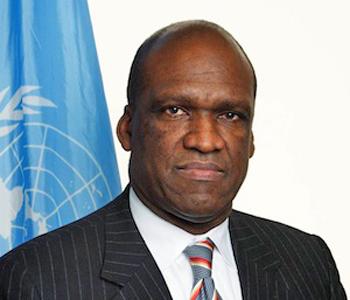 Председатель Генеральной Ассамблеи ООН - Джон Эш