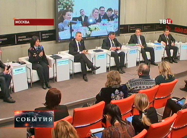 """Пресс-конференция """"Горячее-сердце"""" в Москве"""