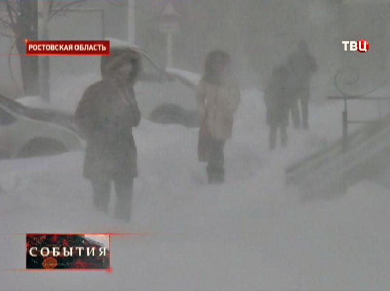 Холода в Ростовской области