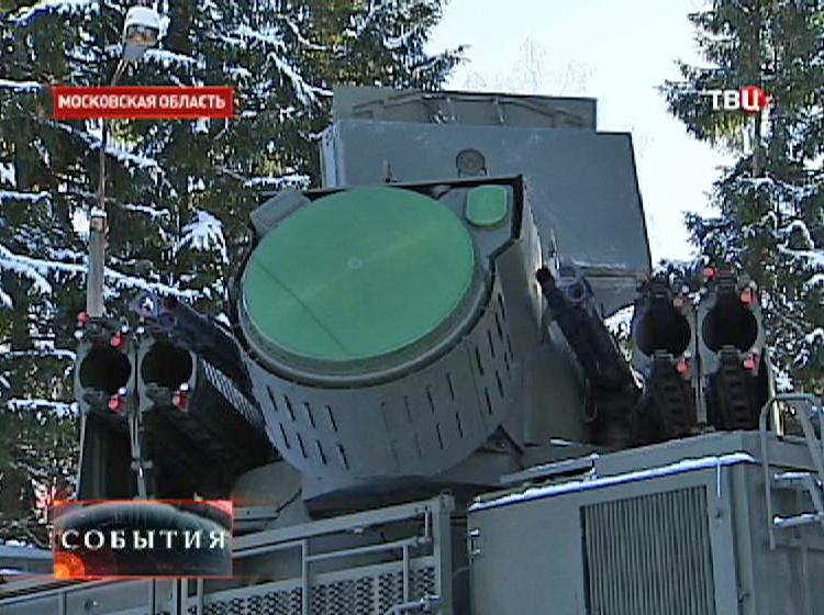 """Ракетно-пушечный комплекс """"Панцирь-С"""""""