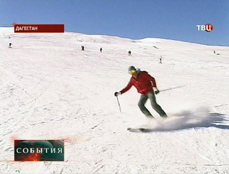Лыжный курорт в Дагестане