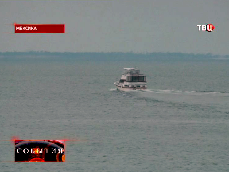 Рыболовная лодка у берегов Мексики