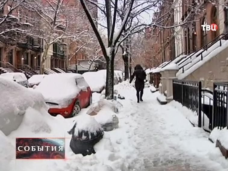 В США потепление