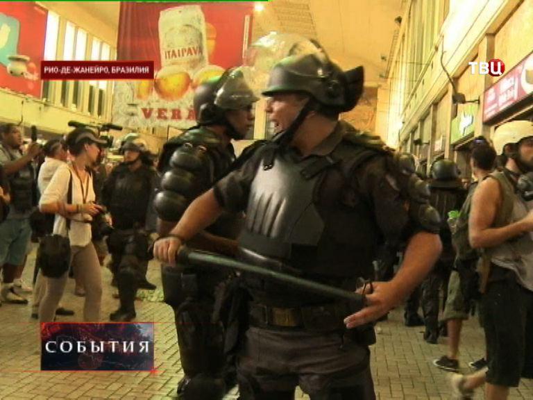 Беспорядки в Бразилии