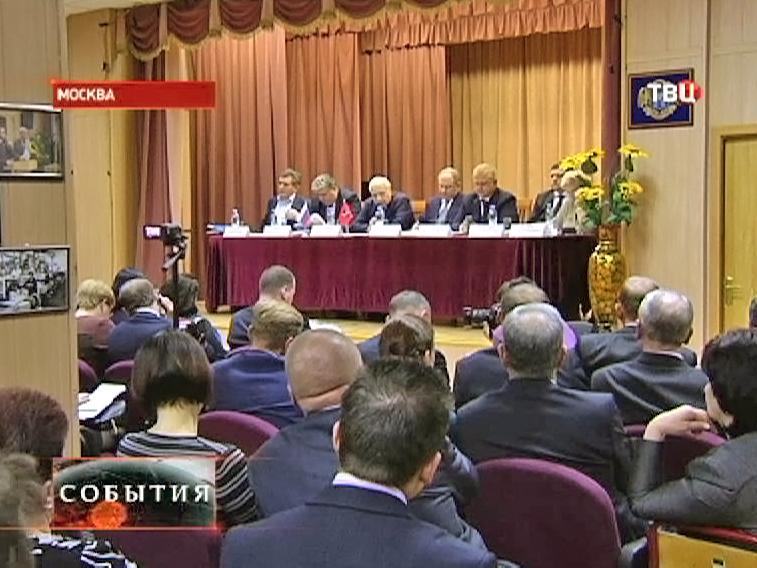 Заседание членов столичного правительства в ЗАО