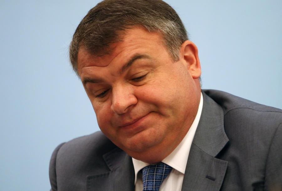 Экс-глава Минобороны Анатолий Сердюков