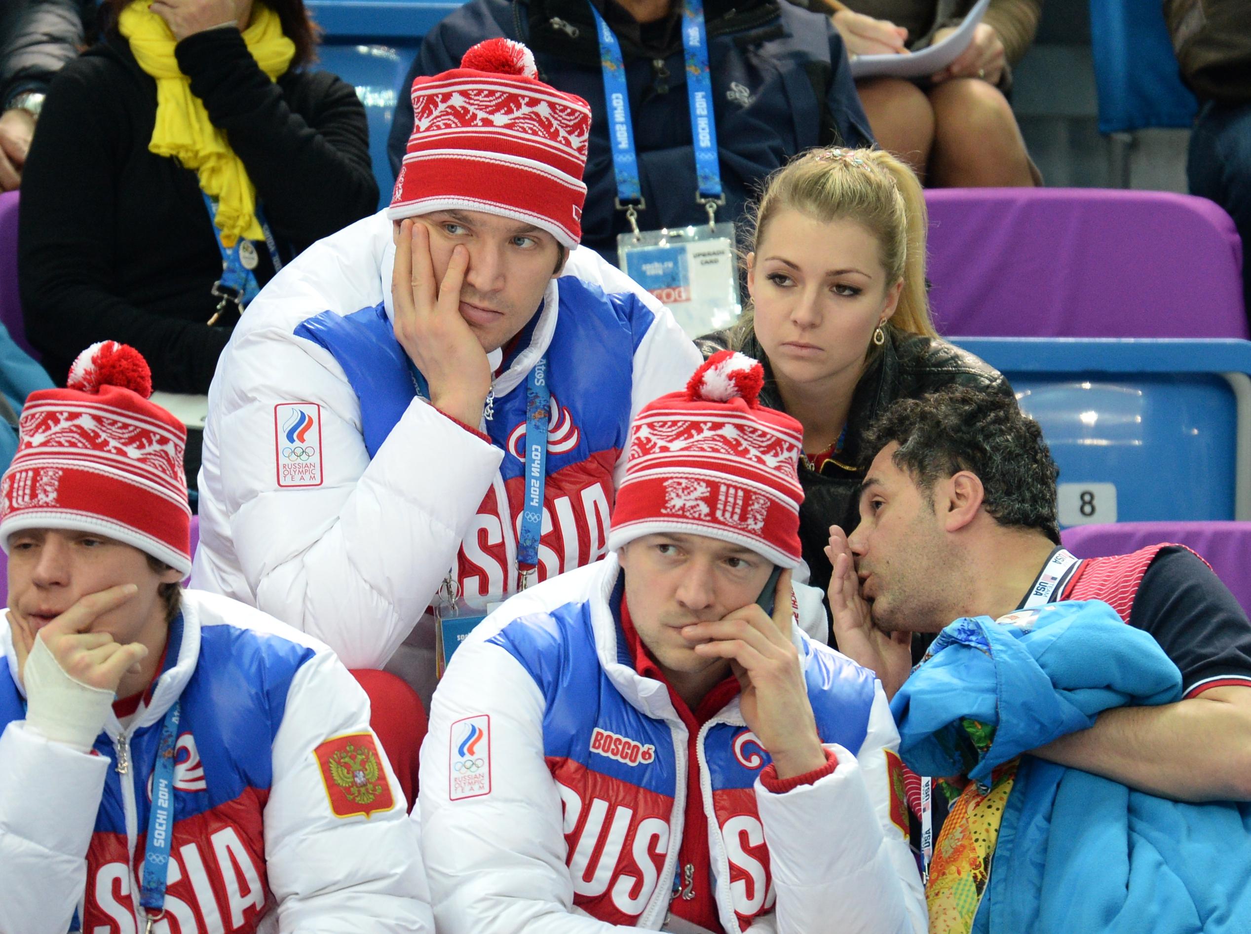 Хоккеист Александр Овечкин с подругой теннисисткой Марией Кириленко