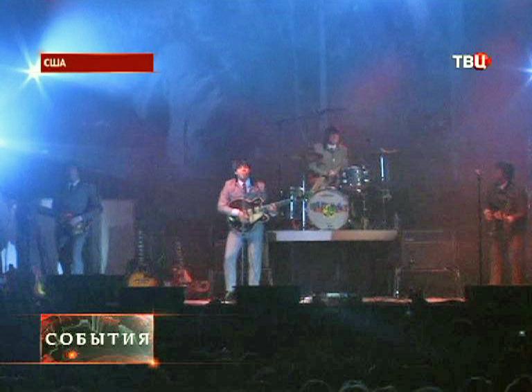 """Торжество в США по поводу """"первого приезда"""" группы The Beatles"""
