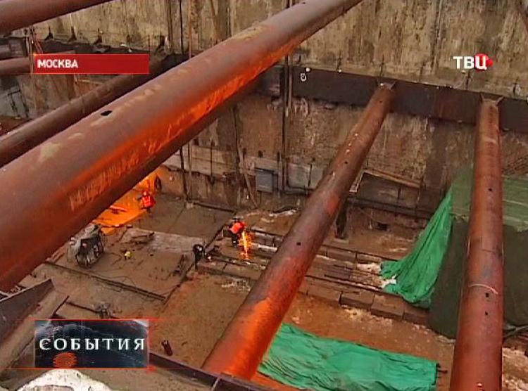 Строительство Кожуховской линии метро