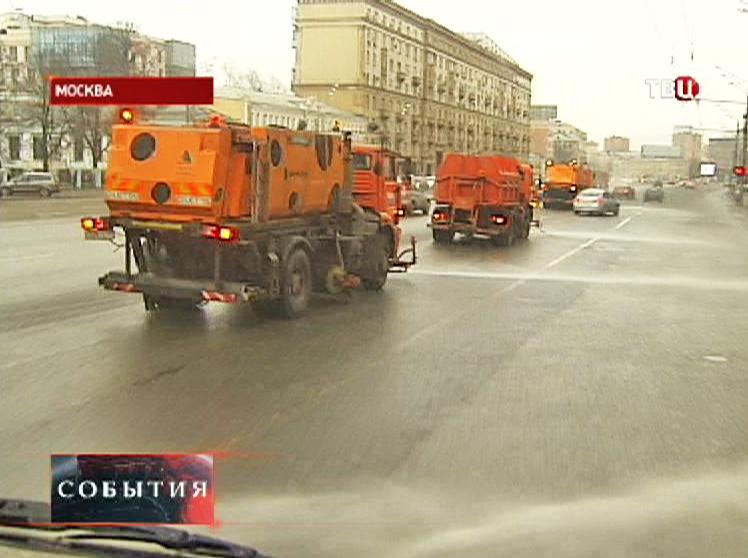 Промывка улицы