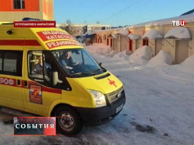 В Москву доставили тяжелобольную четырехмесячную девочку с Камчатки