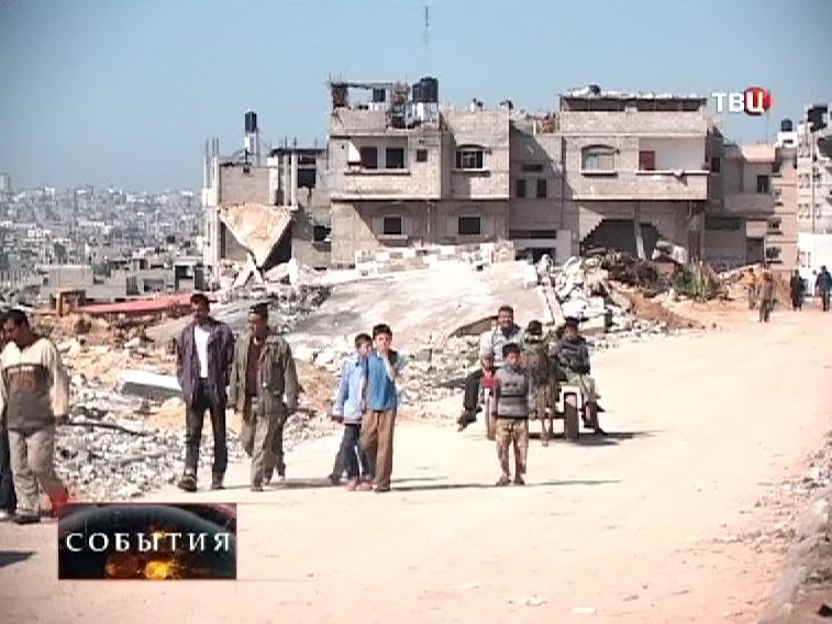 Палестино-Израильская граница