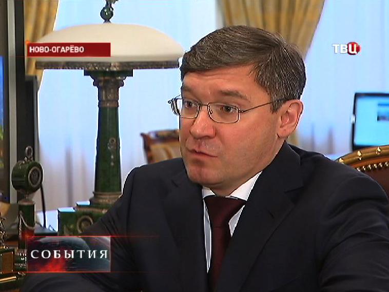 Глава Тюменской области Владимир Якушев