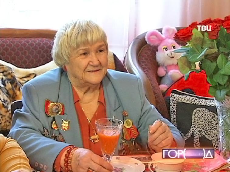Ветеран Великой Отечественной войны Галина Брок-Бельцова