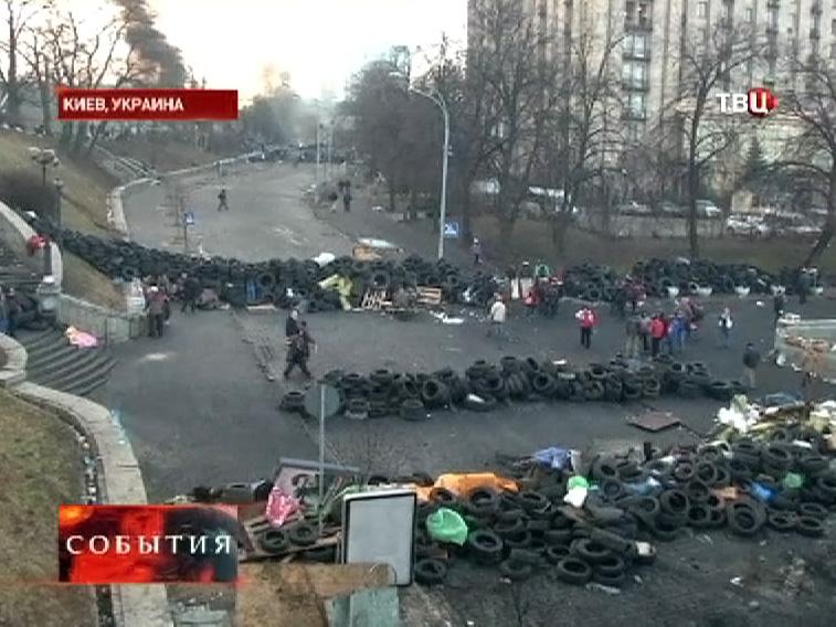 Баррикады в Киеве