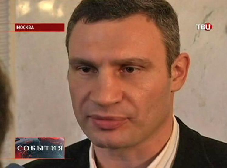 "Виталий Кличко, лидер партии ""УДАР"""