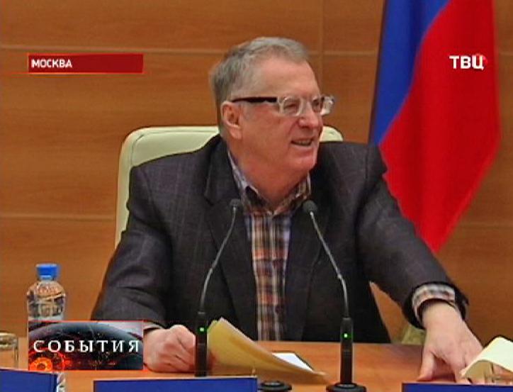 Владимир Жириновский, лидер партии ЛДПР
