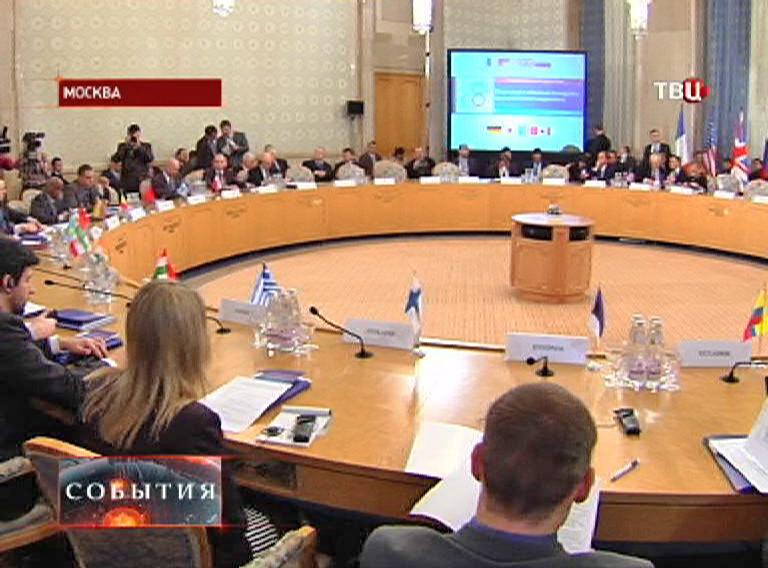 Совещание антинаркотического комитета России