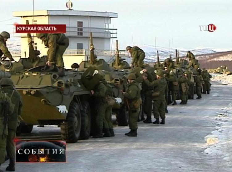 Учения российских войск
