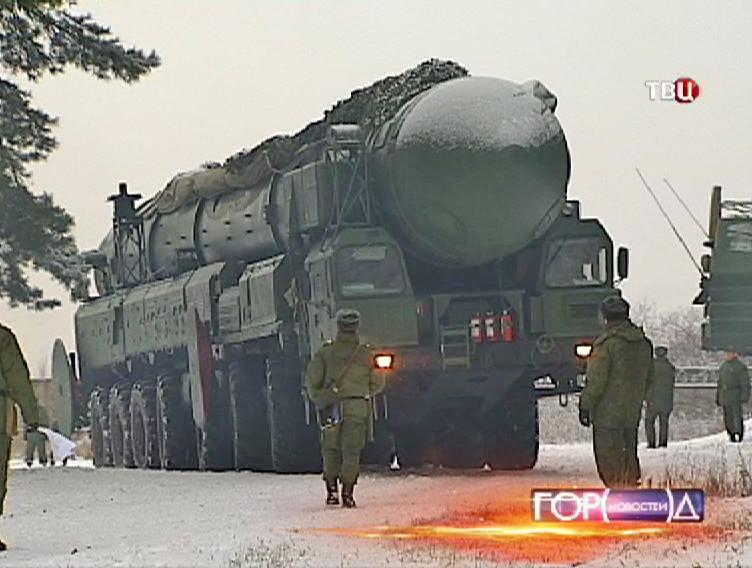 """Ракетный комплекс """"Тополь-М"""""""