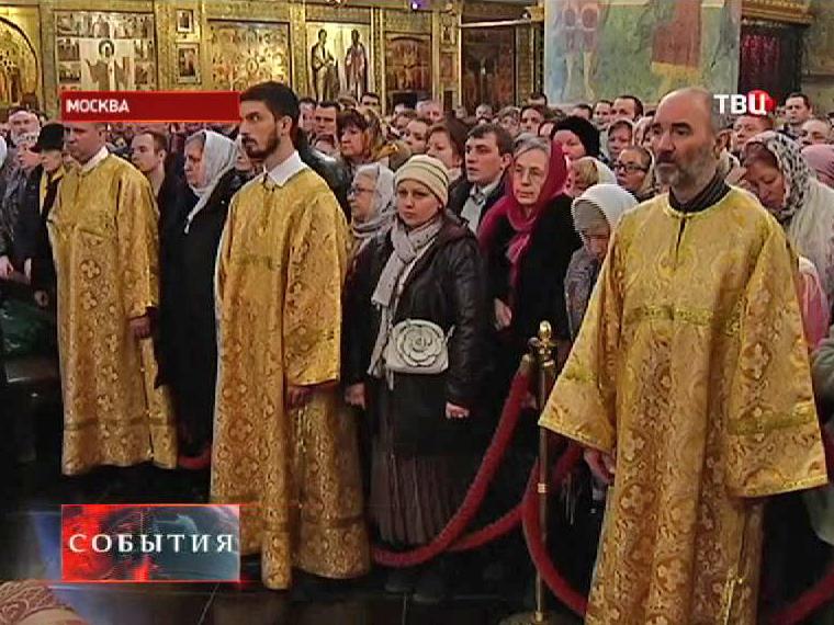 Православные христиане празднуют Прощеное воскресение