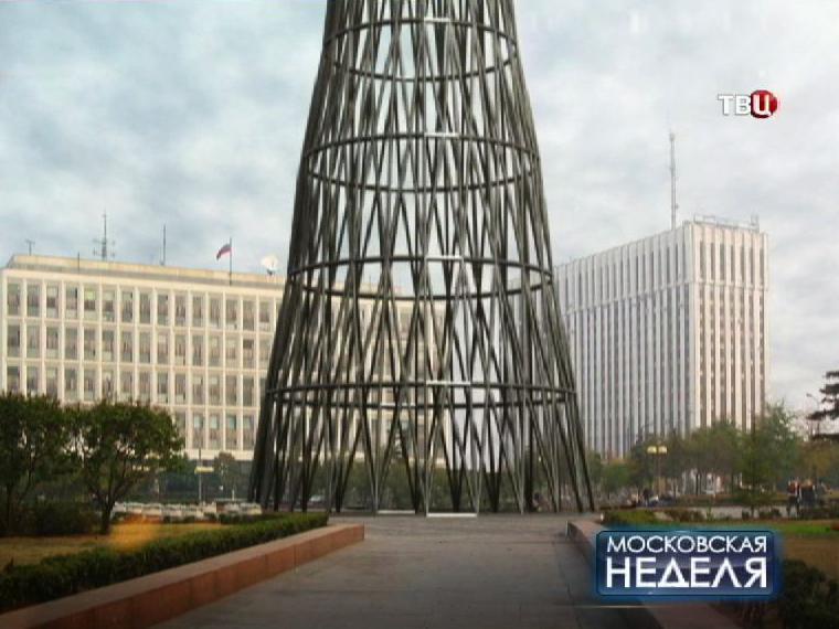 Проект переноса Шуховской башни на Калужскую площадь