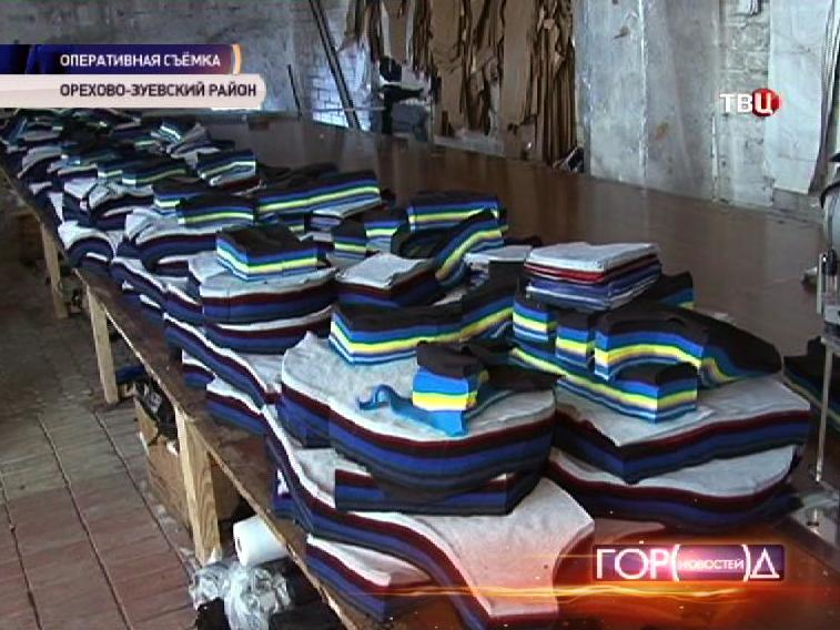Подпольный пошивочный цех