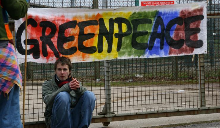 Акция Greenpeace